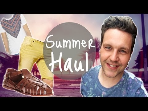 Summer Holiday Clothes Haul - UK ASOS Office Bank H&M