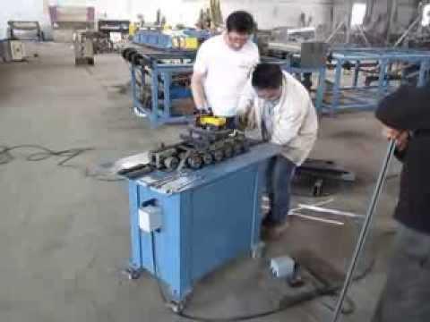 Inspeção de qualidade - Máquina TDF para calhas elétricas P2 - China Link Trading