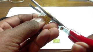 Cutting Sim Into Micro Sim IPhone 4S, Lumia 925, Galaxy