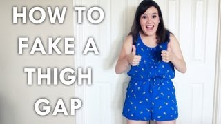 5 Ways to Fake a Thigh Gap
