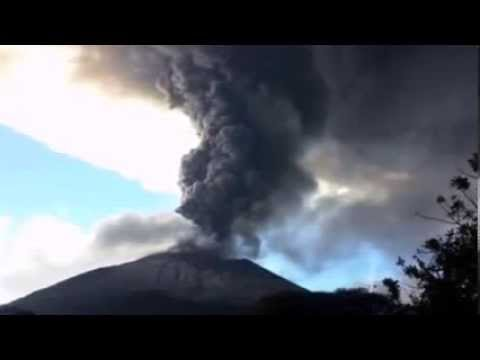 Volcano erupts in El Salvador prompting evacuations