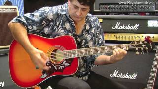 Epiphone Hummingbird Acoustic Heritage Cherry Demo Tony