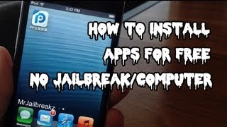 How To Get APPS FREE IOS 8 (NO JAILBREAK