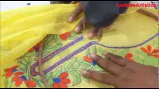 How To Sew Cut Salwar Kameez-Designer Kameej MAKING Method