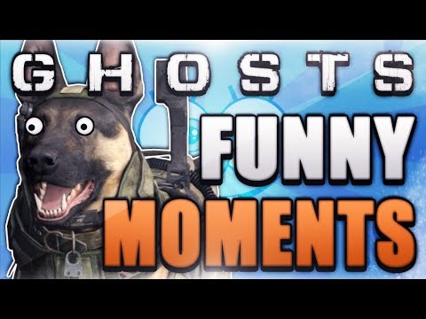 COD Ghosts Funny Moments - FLYING DOG GLITCH! (Girl Rage, and Crazy Fails)