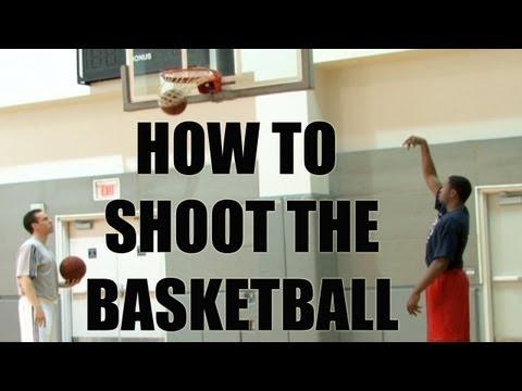 Basketball shooting tips and drills. Form shooting with Rob McClanaghan
