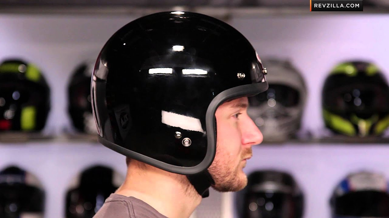 Bell Bullitt Helmet >> Bell Custom 500 Helmet Review at RevZilla.com - YouTube