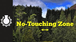 Canada and US Bizarre Border