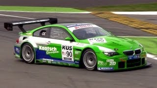 BMW Alpina B6 GT3 Sound In Action On Track