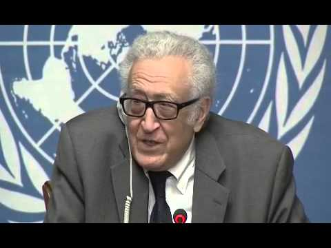 Syria \ Lakhdar Brahimi Press Conference on Geneva,30 January 2014