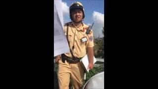Sài Gòn: CSGT khóc thét khi đụng phải cháu ngoại Trần Đại Quang