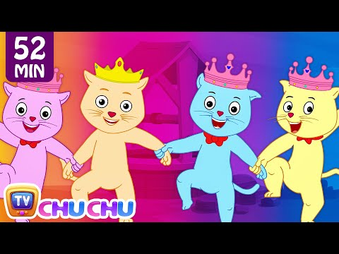 Jack and Jill and Many More Nursery Rhymes Collection by Cutians™ - The Cute Kittens | ChuChu TV