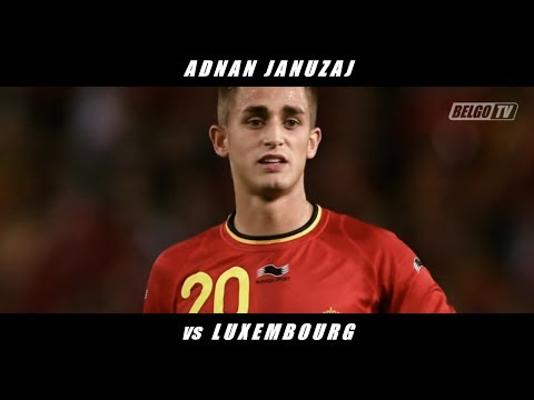 Adnan Januzaj vs Luxembourg (International Friendly) [ALL TOUCHES + POST-MATCH INTERVIEW]