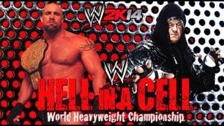 WWE 2K14 World Heavyweight Championship Goldberg VS Undertaker