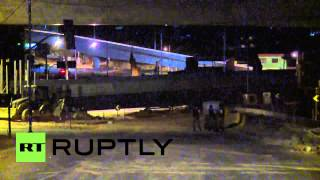 Brazil: Cleanup continues at scene of overpass collapse