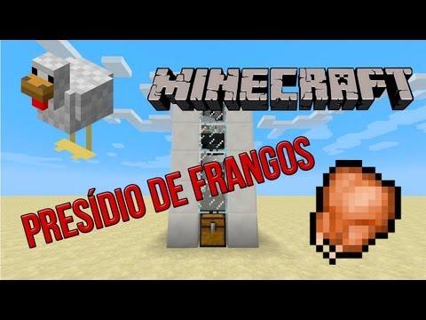 Fazenda de Frangos Automática - Minecraft Tutorial