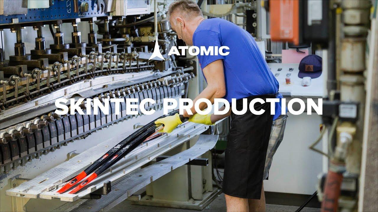 Видео о том как производятся беговые лыжи Atomic
