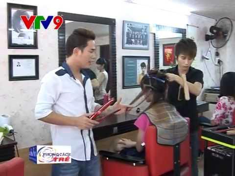 Quán quân vua tóc Việt Nam 2014  Duy sáng tạo  - Phong cách trẻ [ VTV9 22-08-2015 ]