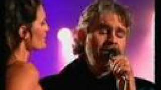 "Andrea Bocelli with his Fiancee ""Les Feuilles Mortes' (Autumn Leaves)"""
