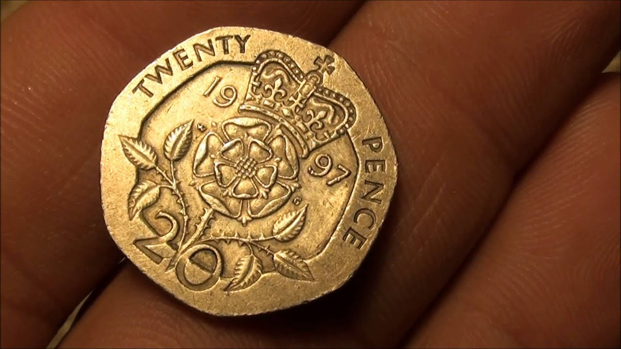 Foreign Coin Find, Twenty Pence - YouTube