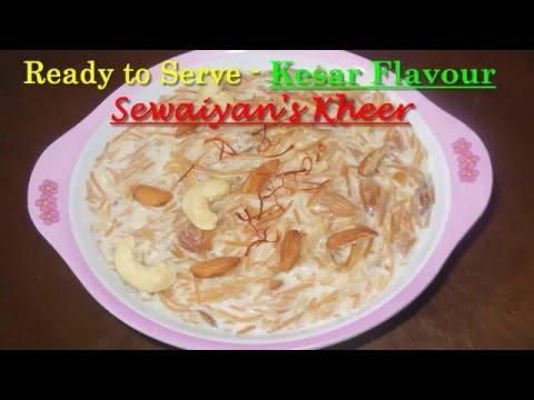 Easy to Make Sewaiyan's Kheer (सेवई का खीर)...