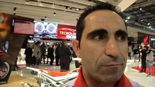 Eicma 2013: intervista al Campione del Mondo FIM Cross Country, Paulo Goncalves