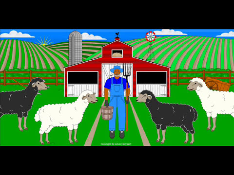 OLD MCDONALD had a farm  barney song old mcdonalds commercial nursery rhyme lyrics