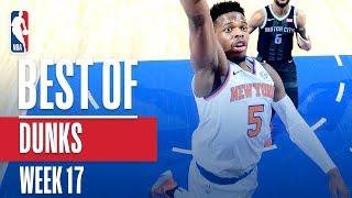 NBA's Best Dunks   Week 17