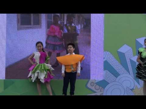 2. THCS Nguyen Du - Nhảy aerobic & flashmob Việt Nam Ơi - 6M