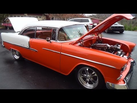 1955 Chevrolet Street Rod Steve Holcomb Pro Auto Custom Interiors