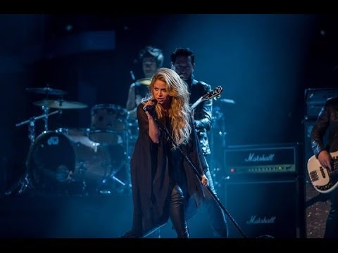 [HD] Shakira - 'Empire' - The Voice UK 2014 - The Live Semi Finals