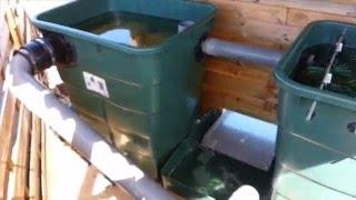 Filtration de bassin faite maison vea mas videos de for Filtration eau maison