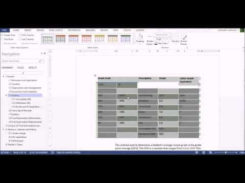 Shkathtësit të avansuara në MS Word 2013