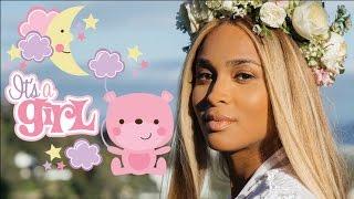 Ciara gives birth to a baby girl: Sienna Princess Wilson. Congrats Ciara and Russell!
