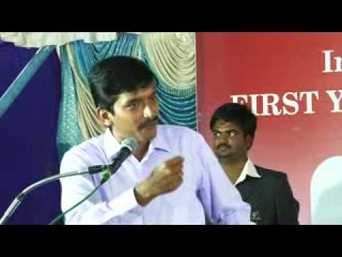 SVS College of Engineering first year inauguration INFOSYS sujith kumar speech