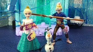 FROZEN Disney Queen Elsa And Jack Frost Flying FAIL Watch