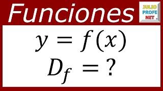 Dominios De Funciones Domain Of Some Functions