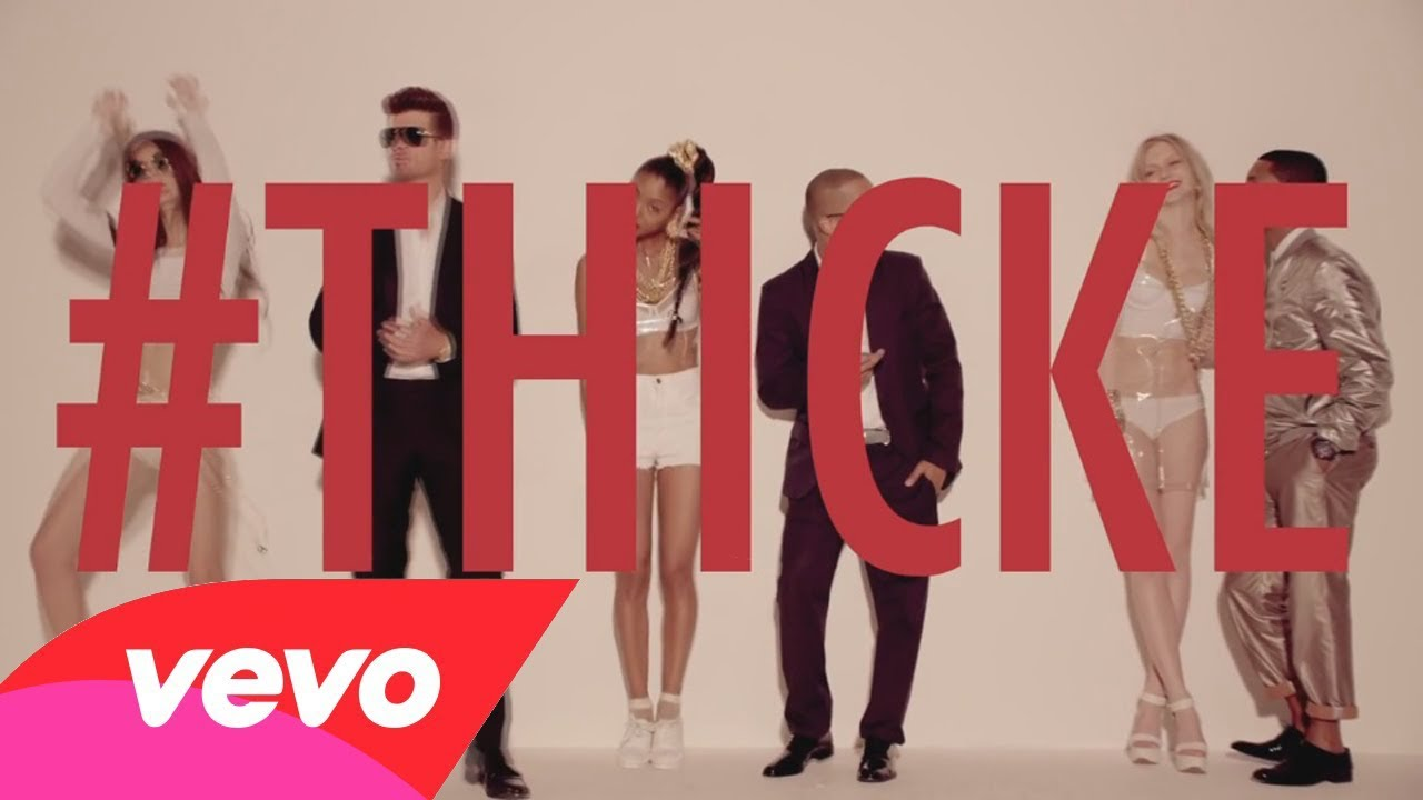 Robin Thicke Blurred Lines Video Censored Version