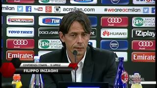 "Inzaghi: ""Vincere per il Presidente"" 