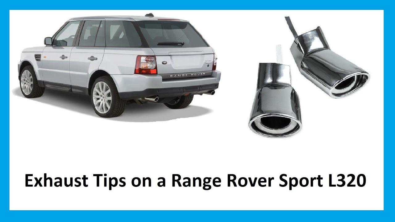 how to delete exhaust on range rover