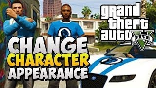GTA 5 Online How To Change Your Characters Appearance