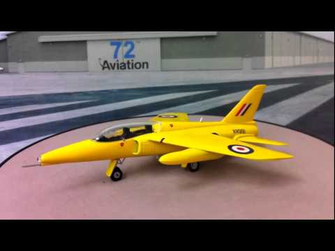 Aviation72 1:72 Folland Gnat RAF Display Team ' Yellow Jacks ' XR991