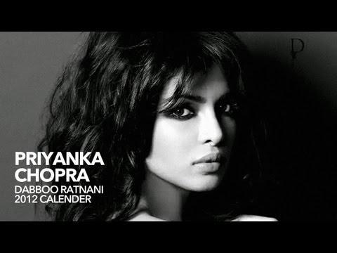 Priyanka Chopra: Dabboo Ratnani 2012 Calendar Teaser