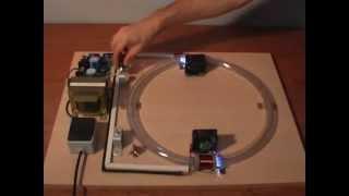 Maqueta del Acelerador de partículas