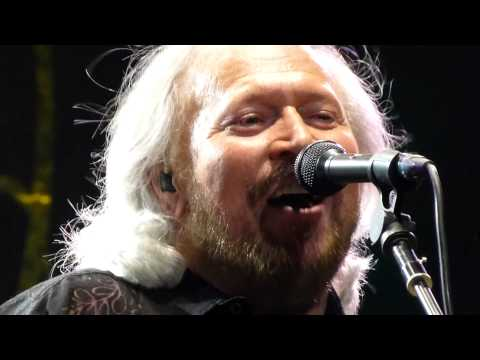 Barry Gibb - Stayin Alive - Live @ o2 Dublin - 25 September 2013 - Bee Gees
