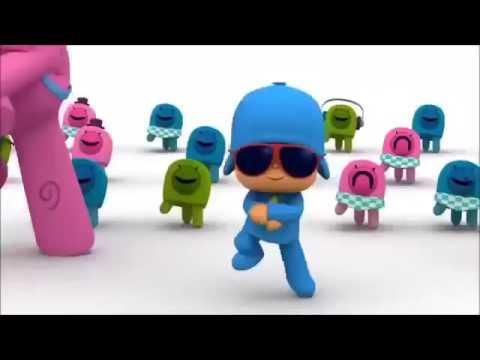 Gangnam style hoạt hình vui nhộn   Gangnam style Pocoyo