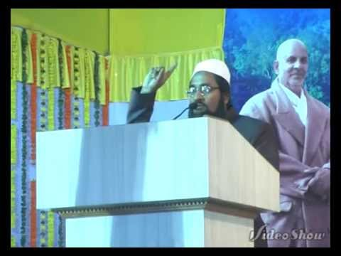 Shakeel Ahmed at Divine Life Society Peace Confere