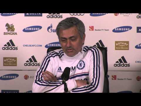 Jose Mourinho pre Arsenal - 21 3 2014