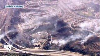 Incendies en Californie : des images aériennes montrent des habitations ravagées par les feux