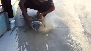 Easy Way To Cut Concrete Pavement